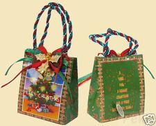 Spieluhr in schöner Tasche mit Motiv Weihnachten mit Melodie O Tannenbaum 50029