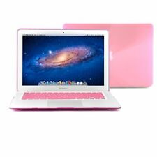 GMYLE Pink Hard Case Crystal for MacBook Air 13 - with keyboard cover