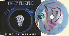 DEEP PURPLE CD King Of Dreams 3 Track 1990 GERMAN Single Fire In The NEW / UNP