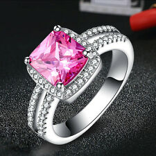 925 Silver Ring AAA Zircon 1 Carat Diamond Rings Women Wedding Jewelry