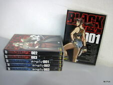 BLACK LAGOON BLACK LAGOON SECOND BARRAGE Serie Completa 6 DVD Panini Video Usati