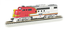 Bachmann HO Santa Fe #163 (warbonnet) - FT A-Unit - E-Z App™ Engine 68901 NEW