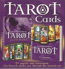 TAROT CARDS DVD & BOOK GIFT SET -TV PSYCHIC & CLAIRVOYANT EVE PEACOCK GUIDES YOU
