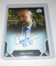 Marvel Agents of SHIELD Season 1 Autograph Trading Card Carlo Rota Boardered
