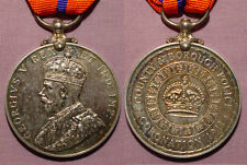 1911 KING GEORGE V (Police) CORONATION MEDAL - COUNTY & BOROUGH POLICE REVERSE