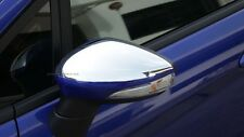 Fit Ford Fiesta 2010-2015 5dr Hatchback Chrome Cover Trim Mirror Rear View