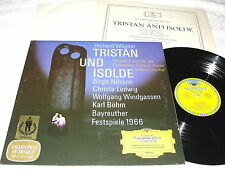 "Bohn/Bayreuth Festival ""Wagner:Tristan And Isolde"" 1968 LP,NM!,DGG 136433 Tulips"