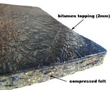 Automotive Bitumen top + Felt - Soundproofing Pads 50cm x 50cm x 10mm / 10 PADS