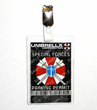 Resident Evil Special Forces ID Badge Umbrella Cosplay Costume Prop Halloween