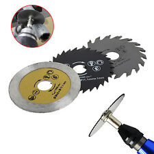 3 Pcs Out Diameter 54.8mm HSS Mini Wood Circular Saw Blade Cutting Blade