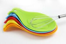 Mat Put A Spoon Kitchen Tools Heat Resistant Mat Insulation Novelty Silicone