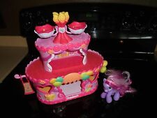 MY LITTLE PONY ROLLER SKATE PARTY CAKE HOUSE!!!!