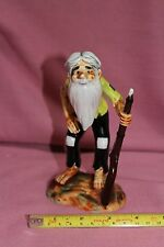 VINTAGE UCAGCO CHINA FROM JAPAN / OLD MAN WITH BEARD HOLDING GUN