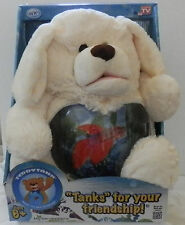 Teddy Tank CUTE DOGGIE Fish Tank Bank Snack Coin Holder As Seen on TV - NIB