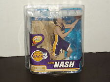 2013 STEVE NASH VARIANT JERSEY  MCFARLANE FIGURE # 1074 / 1500 SERIES 22 LAKERS