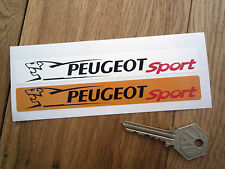 PEUGEOT SPORT Number Plate Dealer Logo Cover Stickers 205 206 307 GTi 106 406