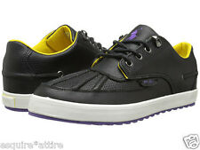 POLO Ralph Lauren men size 8.5 M black leather shoes model RAMIRO NIB