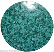 "42"" Malachite Green Marble Center Table Top Handmade Work Home Decor"