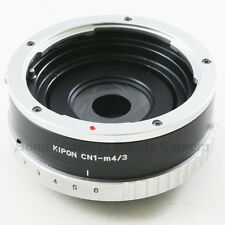Kipon Contax N N1 mount lens to Micro M 4/3 Adapter Build-in Aperture E-PL7 GH4