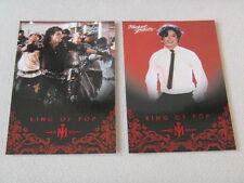 Michael Jackson - No 29 & 78 - 2 Panini Trading Cards 2011 *RARE* aus USA