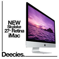 "NEW Apple Retina iMac 27"" 5k 3.3Ghz i5 16GB Ram 256gb Flash SSD Windows 10"