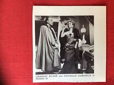 m2e ephemera 1950s film picture cutting charles boyer danielle darrieux