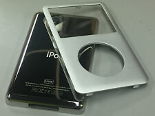 New iPod 6th 6.5 7th Gen Classic Silver Front Faceplate 512GB Back Cover Housing