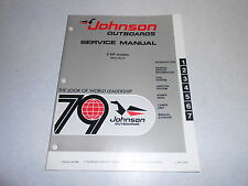 1979 6 hp Johnson Evinrude Outboard Repair & Service Manual 6hp