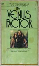 THE VENUS FACTOR ~ TRULY THE WOMEN'S LIB OF SCIENCE FICTION ~ VINTAGE PB 1973