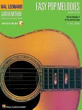 Guitar Method: Easy Pop Melodies, 2nd Edition (Book & CD), Hal Leonard Corp., Ac