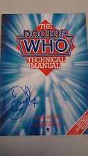 Dr. Who Technical Manual signed by Eric Roberts aka the Master!