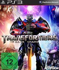Playstation 3 Transformers RISE OF THE DARK SPARK  Deutsch TopZustand