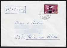 Switzerland: Plain Cover + Safety at Work stamp; Kalchbuehl postmark