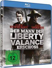 Blu-ray DER MANN DER LIBERTY VALLANCE ERSCHOSS # John Wayne, James Stewart ++NEU
