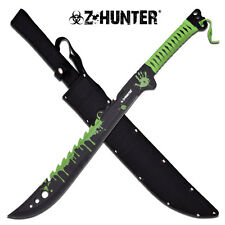 Z-Hunter Green Cord Wrapped Zombie Hunter Stainless Steel Machete #124GN