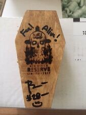 BLAIR'S 2017 NEW MEXICO RESERVE HOT SAUCE COFFIN IN STOCK DEATH CHILI HELLFIRE