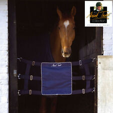 Mark Todd Competition Stall Guard Adjustable NAVY BLUE + Worldwide Shipping