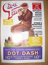 CARD TIMES MAGAZINE FORMERLY CIGARETTE CARD MONTHLY No 160 NOVEMBER 2003