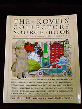 The Kovels Collectors Source Book by Ralph and Terry Kovel - 1st edition