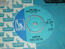"""7"""" - Bobby Vee / Come back when you grow up & Let the four Winds blow - 1967 UK"""