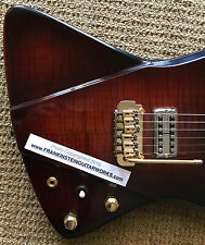GIBSON EXPLORER / SG CUSTOM SHOP BLEND Masterbuilt CUSTOM guitar PROTOTYPE