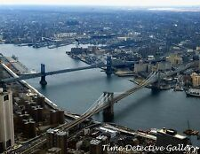 View of the East River from the World Trade Center, NY -1982- Giclee Photo Print