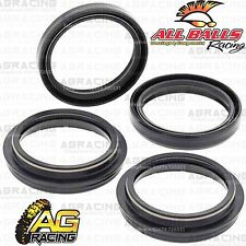 All Balls Fork Oil & Dust Seals Kit For Suzuki DRZ 400E Non CA Pumper Carb 04-07