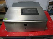 "17"" x 10"" x 7"" STAINLESS STEEL ENCLOSURE NEMA 12 4 4X ELECTRIC PANEL BOX"