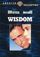 WISDOM (1986 Demi Moore, Emilio Estevez) - Region Free DVD - Sealed