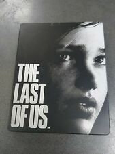 The Last Of Us Rare Steelbook Ps3 PlayStation 3 no game free shipping