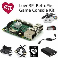 LoveRPi RASPBERRY PI 3 RetroPie Game Console Kit with 2 Controllers