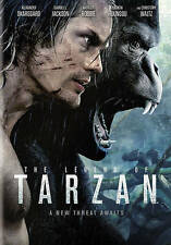 The Legend of Tarzan DVD 2016 NEW Alexander Skarsgard, Margot Robbie