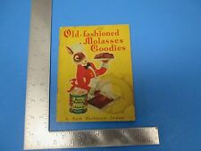 Vintage 1934 Old Fashioned Molasses Goodies By Ruth Washburn  New Orleans S1075