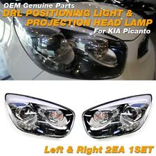 OEM Genuine DRL Positioning & Projection Head Lamp For KIA 2011 - 2015 Picanto
